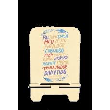 Porta-Celular Personalizado - Dia dos Pais 05 - Obrigado por Existir Pai