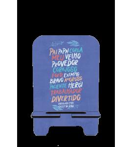 Porta-Celular Personalizado - Dia dos Pais 06 - Obrigado por Existir Pai