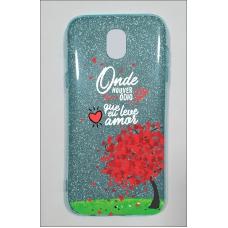 Capinha para celular Glitter Azul R 04