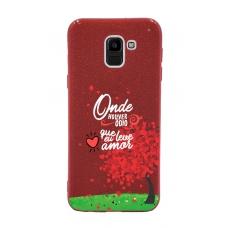 Capinha para celular Glitter Vermelha R 04