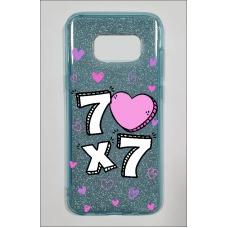 Capinha para celular Glitter Azul R 163