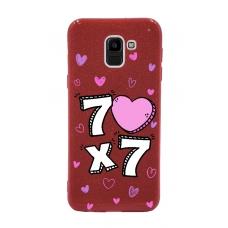 Capinha para celular Glitter Vermelha R 163