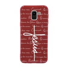 Capinha para celular Glitter Vermelha R 186