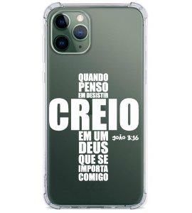 Capinha de celular (tpu premium) - GOSPEL 63 - Cruz