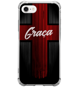 Capinha de celular - 1 Gospel 205 - Cruz Graça