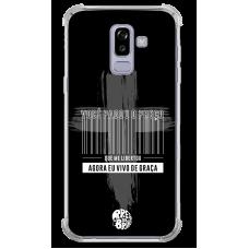 Capinha para celular - Preto no Branco 08 - Jesus pagou o preço