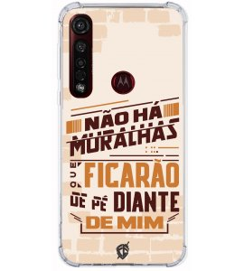Capinha para celular - André Valadão 19 - Não há muralhas que ficarão de pé diante de mim