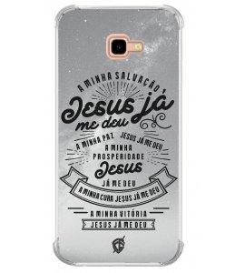 Capinha para celular - André Valadão 25 - A minha salvação Jesus já me deu
