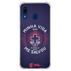 Capinha para celular - André Valadão 26 - MINHA VIDA DOU AQUELE QUE ME SALVOU