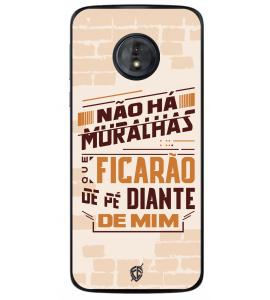 Capinha de celular (tpu premium) - André Valadão 19 - Não há muralhas que ficarão de pé diante de mim