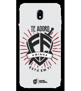 Capinha de celular (tpu premium) - André Valadão 03 - A minha fé está em Ti