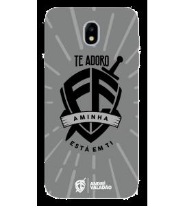 Capinha de celular (tpu premium) - André Valadão 09 - A MINHA FÉ ESTÁ EM TI