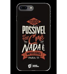 Capinha de celular (tpu premium) - André Valadão 13 - Tudo é possível ao que crê