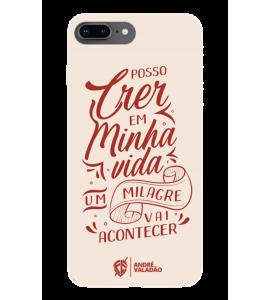 Capinha de celular (tpu premium) - André Valadão 17 - Um milagre vai acontecer
