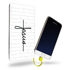 CARREGADOR PORTÁTIL - GOSPEL 187 - Jesus