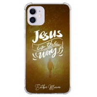 Capinha para celular - Esther Marcos 05 - Jesus is the way