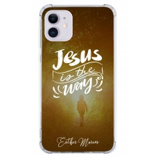 Capinha para celular - Esther Marcos 05 - Jesus is the way