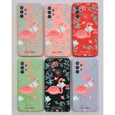 Capinha Silicone Case - Personalizada - Flamingo 02