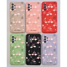 Capinha Silicone Case - Personalizada - Flamingo 05