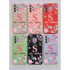Capinha Silicone Case - Personalizada - Flores 09