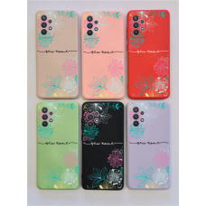 Capinha Silicone Case - Personalizada - Flores 25