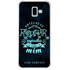 Capinha para celular - Gabi Sampaio 07 - Antes de eu respirar soprastes tua vida em mim