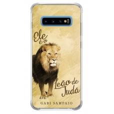 Capinha para celular - Gabi Sampaio 03 - Ele é o Leão de Judá