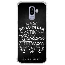 Capinha para celular - Gabi Sampaio 05 - Antes de eu falar Tu cantavas sobre mim