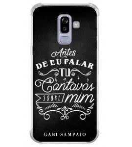 Capinha de celular (linha premium) - Gabi Sampaio 05 - Antes de eu falar Tu cantavas sobre mim