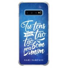 Capinha para celular - Gabi Sampaio 06 - Tu tens sido tão bom para mim