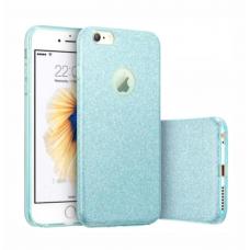 Capinha para celular Glitter Azul - Sem personalização