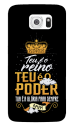 Capinha de celular (tpu premium) - Gospel 164 - Teu é o Reino. Teu é o Poder.