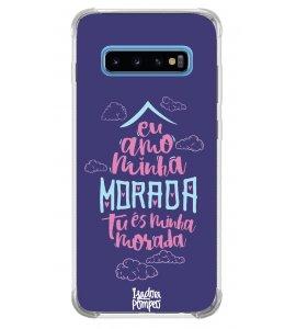 Capinha de celular (tpu premium) - Isadora Pompeo 12 - Eu amo minha morada