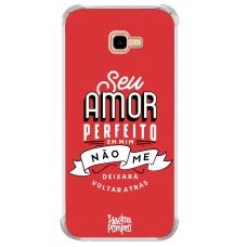 Capinha para celular - Isadora Pompeo 03 - Seu amor perfeito em mim não me deixará voltar atrás