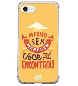 Capinha de celular (tpu premium) - Isadora Pompeo 06 - Mesmo sem merecer você me encontrou