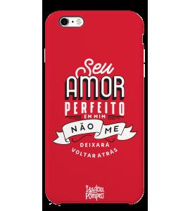 Capinha de celular (tpu premium) - Isadora Pompeo 03 - Seu amor perfeito em mim não me deixará voltar atrás