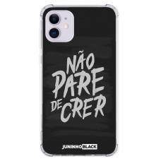 Capinha para celular - JUNINHO BLACK 02 - NÃO PARE DE CRER