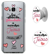Kit Capinha com Pop-Selfie - CH 11 - Encontrei Jesus