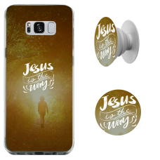 Kit Capinha com Pop-Selfie - Esther Marcos 05 - Jesus is the way