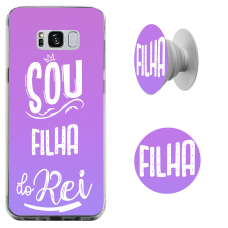 Kit Capinha com Pop-Selfie - Esther Marcos 09 - Sou filha do Rei