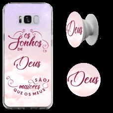 Kit Capinha com Pop-Selfie - Juninho Black 03 - Os sonhos de Deus são maiores