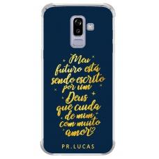 Capinha para celular - Pastor Lucas 04 - Meu futuro está sendo escrito por um Deus