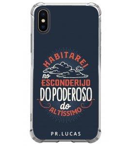 Capinha de celular (tpu premium) - Pastor Lucas 11 - Habitarei no esconderijo do Altíssimo