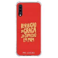 Capinha para celular - Pastor Lucas 09 - Revolução da Graça já começou em mim