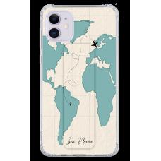 Kit Capinha com Pop-holder - Mapa Mundi 07