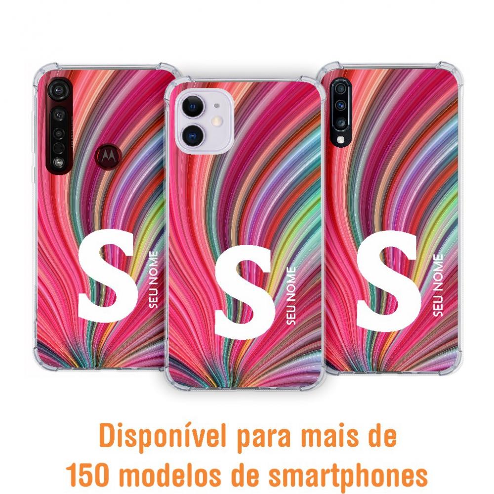 Capinha para celular - Colors 38 - Personalizada com nome