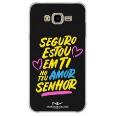 Capinha para celular - Novidade de Vida 06 - Seguro Estou Em Ti No Teu Amor Senhor