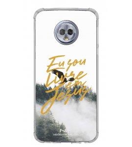 Capinha de celular (tpu premium) - Novidade de Vida 10 - Eu Sou Livre Em Jesus