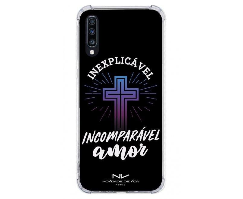 Capinha de celular (tpu premium) - Novidade de Vida 08 - Inexplicável ✞ Incomparável Amor