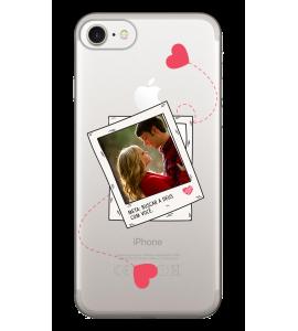 Capinha de celular (tpu premium) - Namorados 28 -  Ambos para Deus